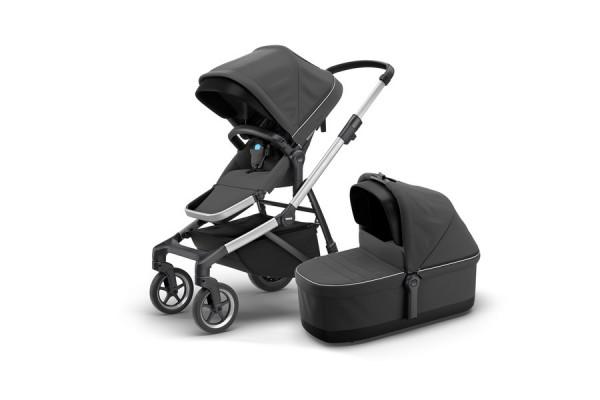 Thule Sleek Kinderwagen + Thule Babywanne Modell 2019