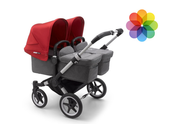 Bugaboo Donkey3 Zwillingswagen Styled by You
