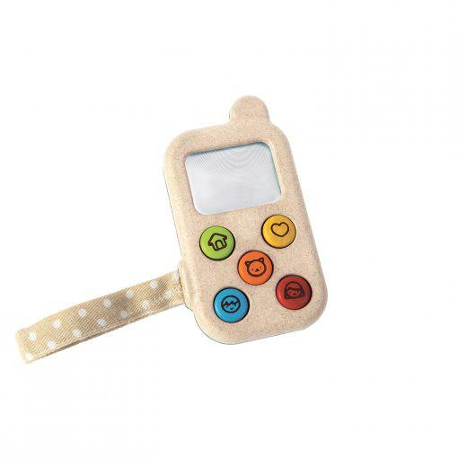 PlanToys Spieltelefon aus Holz