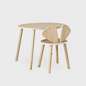Nofred Mouse School Kindertisch mit Stuhl