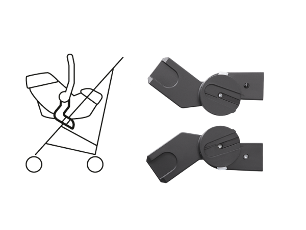 Cybex M-LINE Adapter Black