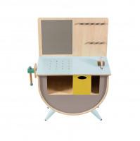 Sebra Werkbank aus Holz für Kinder