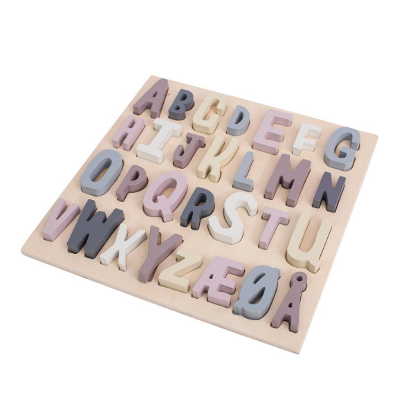 Sebra ABC-Puzzle aus Holz