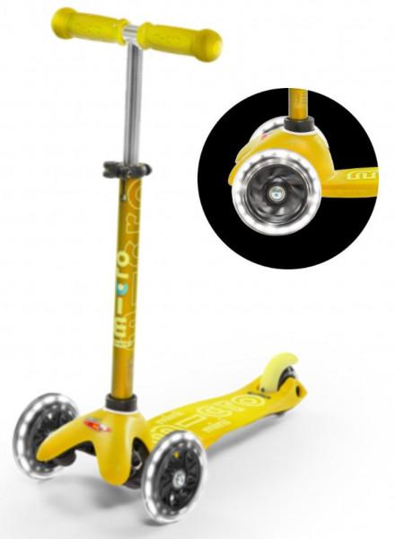 Mini Micro Deluxe mit LED Räder
