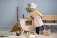 Sebra Kochschürze und Kochmütze