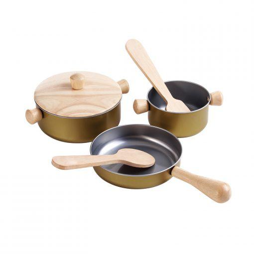 PlanToys Küchenutensilien-Set