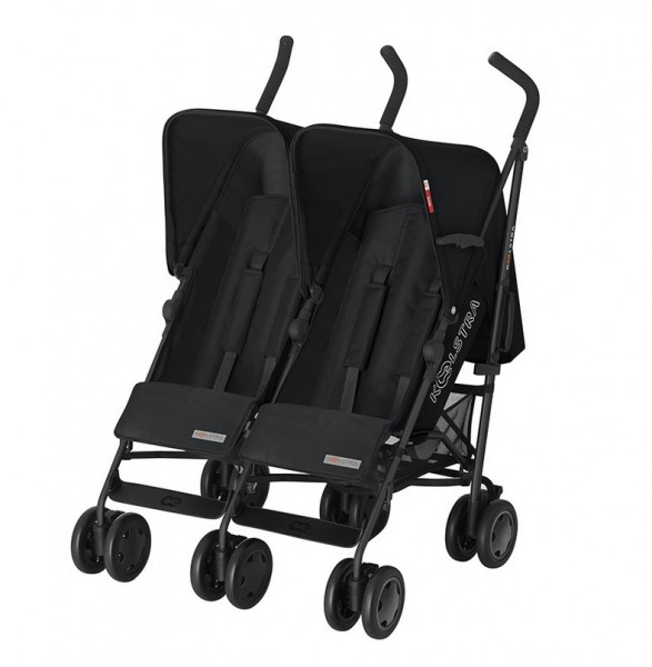 Koelstra Duo Buggy Simba Twin Denim Schwarz