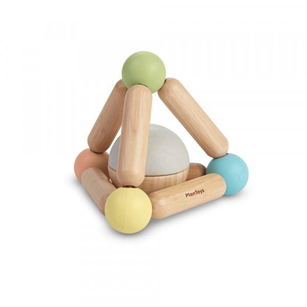PlanToys Holzspielzeug Greifling PYRAMIDE ab 6 Monaten
