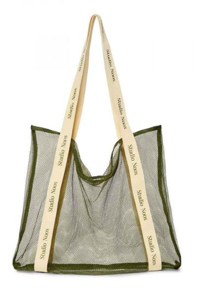Studio Noos Green Mesh Bag