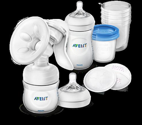 Philips AVENT Still-Set mit manueller Milchpumpe