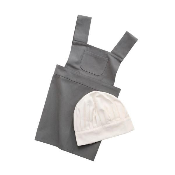 Sebra Kocherschürze und Kochmütze