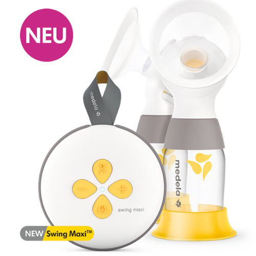 Medela Elektrische Doppel-Milchpumpe Swing Maxi - neues Modell 2021