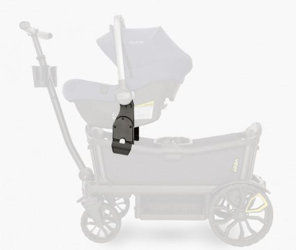 VEER Autositz Adapter Cybex / Maxi Cosi / Nuna Bollerwagen