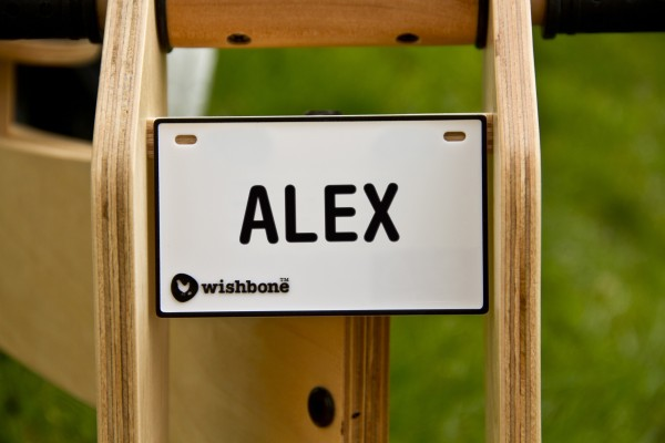 Wishbone Namenschild