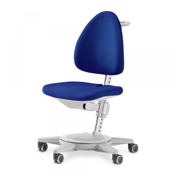 Moll Maximo Bürostuhl Grau - Polster Blau - B-Ware