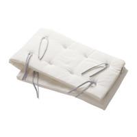 Leander Nestchen für Linea und Luna Babybett aus Bio-Baumwolle, (180x30cm)
