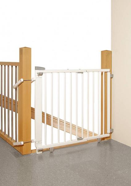Geuther Schwenk-Treppenschutzgitter Plus 2733+ Weiß