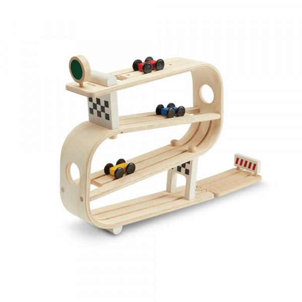 PlanToys Holzspielzeug Autorennbahn Ramp Racer