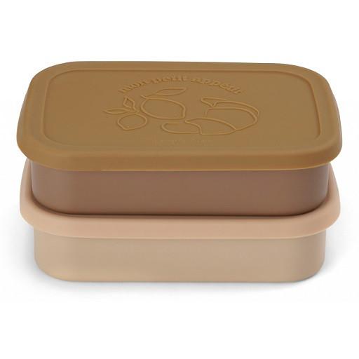Konges Sløjd Lunchbox aus Edelstahl, 2er-Pack