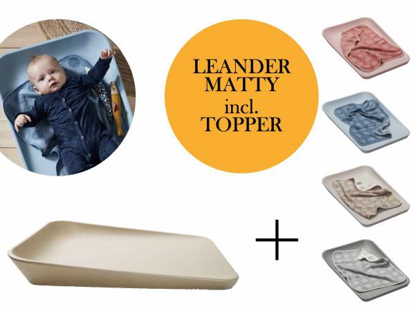 Leander Matty Wickelunterlage + Topper