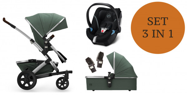Joolz Geo 2 Kinderwagen Set 3 in 1 inkl. Babyschale Modell 2020