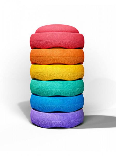 Stapelstein Rainbow Basic 6 Stk.