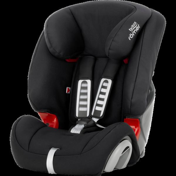 Britax Römer EVOLVA 1-2-3 Kindersitz 2020 Cosmos Black