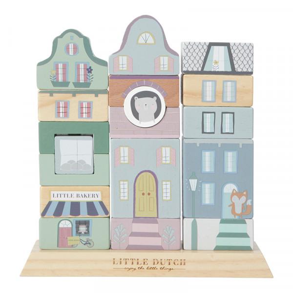 Little Dutch Stapelhäuser 18-teilig