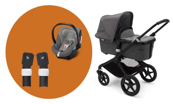 /MarineBlau Baby Kinderwagen und Walking Geschirr/