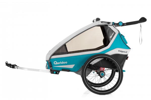 Qeridoo Kidgoo2 Fahrradanhänger Modell 2020