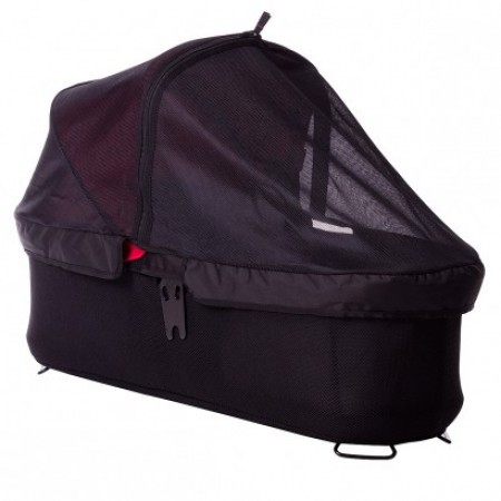 Mountain Buggy Carrycot plus sun cover for Duet, Swift and Mini