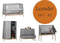 Leander Luna Kinderzimmer XL-Set