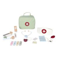 Little Dutch Arztkoffer -Tasche Set aus Holz und Stoff 15-tlg