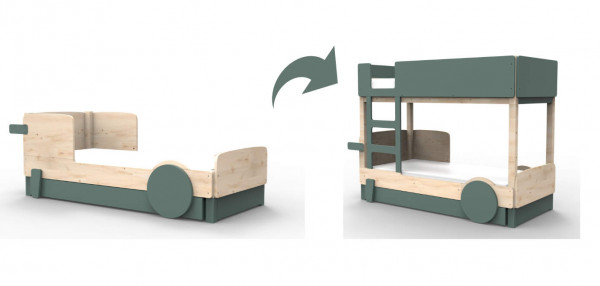 Mathy by Bols Discovery Umbauset von Einzelbett zu Stockbett