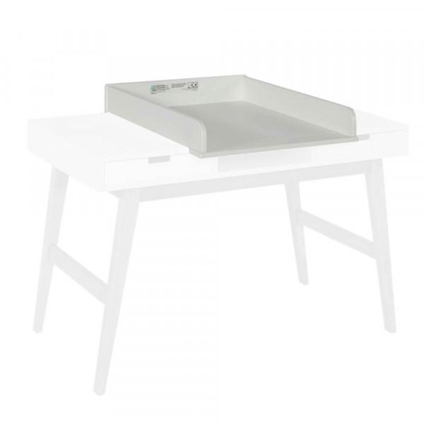 Quax Trendy Wickelaufsatz für Schreibtisch,weiss