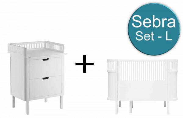 Sebra Babyzimmer L-Set