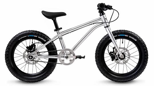 Early Rider Seeker Kinderfahrrad X16 Zoll, aluminium