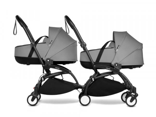 Babyzen YOYO Connect Zwillingswagen mit Liegewanne