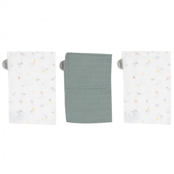 Luma Baby Waschlappen aus Bambus, 3er-Pack
