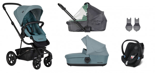 Easywalker Harvey 2 Kinderwagen 3 in 1 Set mit Cybex Babyschale