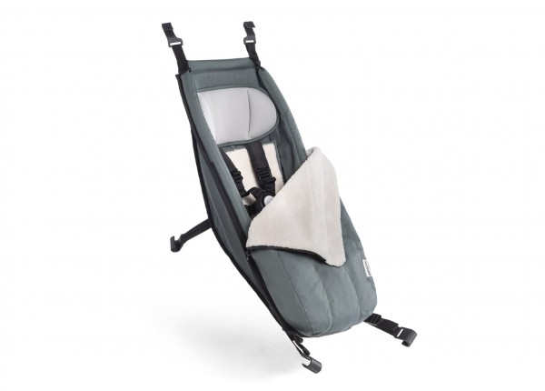 Croozer Babysitz inkl. Winter-Set für Fahrradanhänger ab 2014