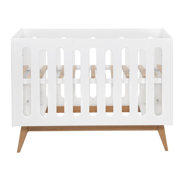Quax Babybett Trendy Weiss 60 x 120 cm