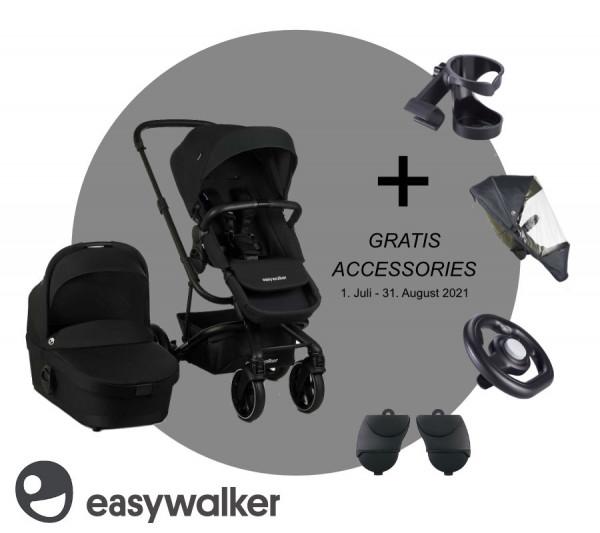 Easywalker Harvey3 Kombi-Kinderwagen 2021 + Gratis Zubehör