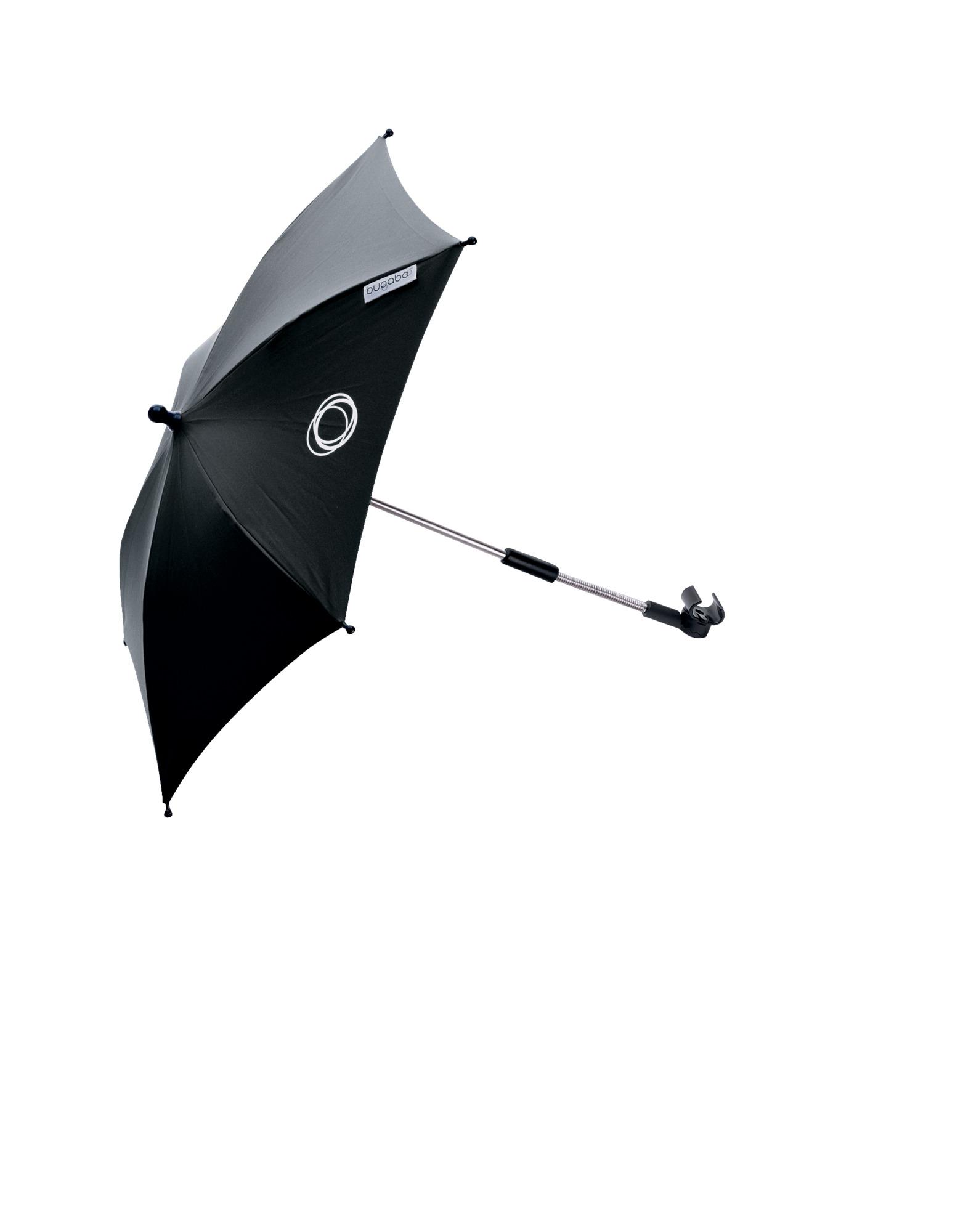 Baby Sonnenschirm Kompatibel mit Mutsy 4 Rider Schwarz