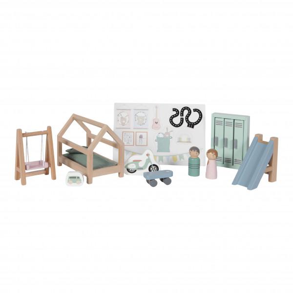 Little Dutch Erweiterungsset Puppenhaus - Kinderzimmer