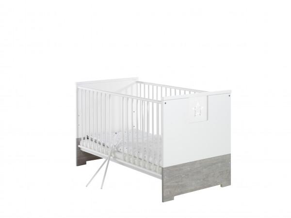 Schardt Eco Star Kombi-Kinderbett 70x140 cm